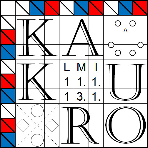 Kakuro : LMI January Puzzle Test