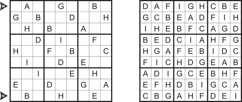 alphabet sudoku