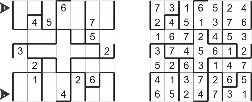 Sudoku types for month October 2012