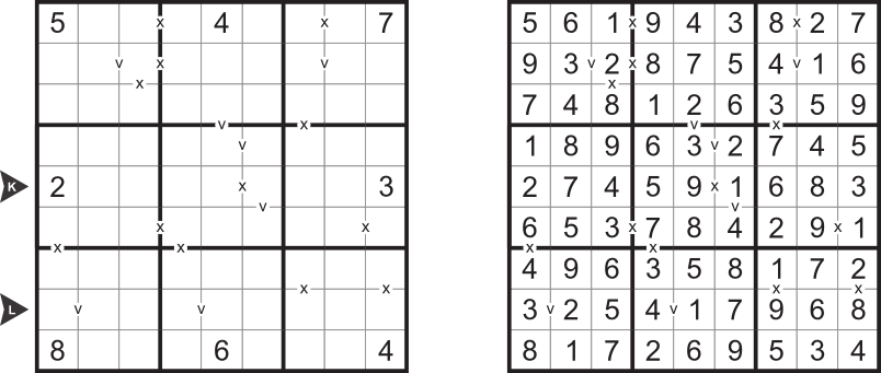 Sudoku types for month January 2013
