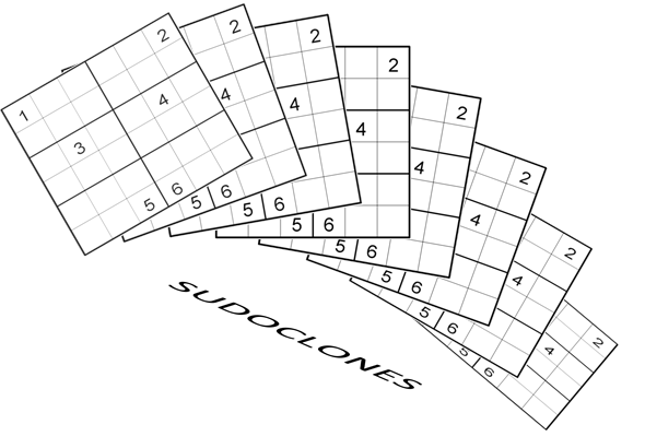 SudoClones - LMI June Sudoku Test